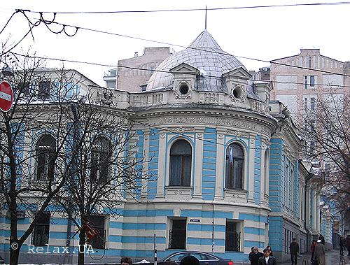 г. Киев. Здание Национальной медицинской библиотеки.